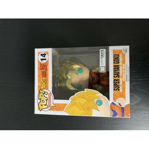 Lootcrate exclusive Super Sayan Goku - Funko Pop