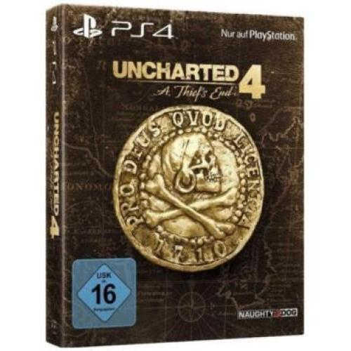 Uncharted 4: A Thief's End Special Edition + Nathan Drake Statue
